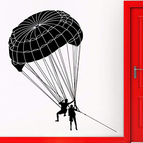 Hot air balloon wall stickers home decoration accessories living room wall art decal 58x65cm