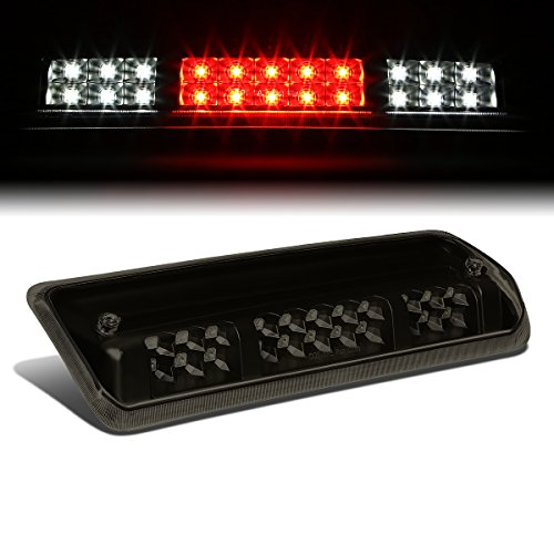 Tinted Housing Dual Row LED 3rd Third Tail Brake Light Cargo Lamp Replacement for Ford F150 Lobo Lincoln Mark LT 06-08