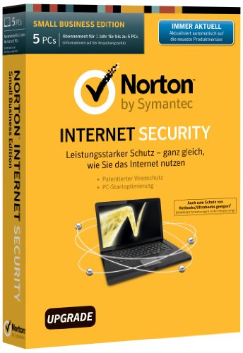Norton Internet Security 2014 - 5 PCs - Upgrade [import allemand]
