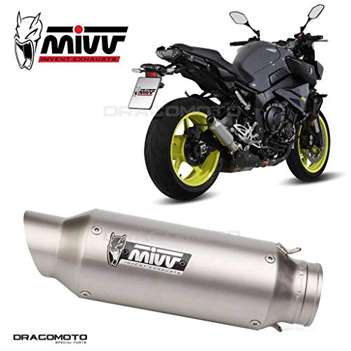 MIVV GP Edelstahl (Slip-On) |Yamaha MT 10 (2016 - 2020)