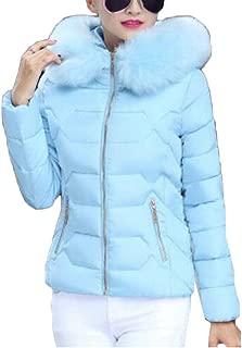 Best powder blue coat fur collar Reviews