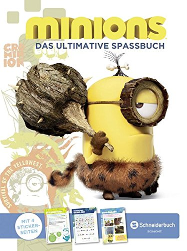 Minions - Das ultimative Spaßbuch
