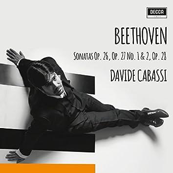 Beethoven: Sonatas Op. 26, 27 Nos 1 & 2, 28
