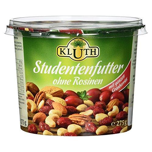 Kluth Studentenfutter ohne Rosinen, 275 g