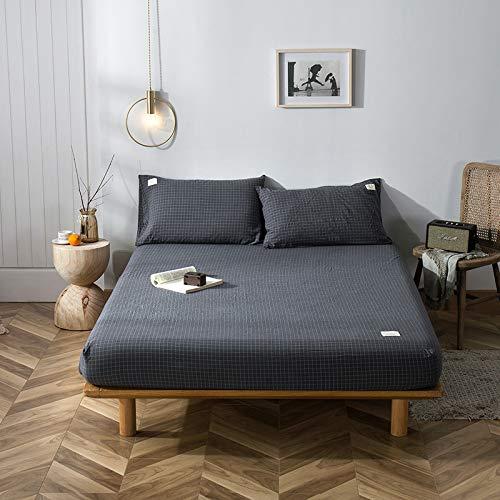 haiba MarkeSpannbettlaken Spannbetttuch Bettlaken R&umgummizug,100x200+15cm