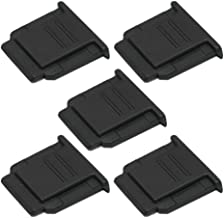 (5-Pack) VKO Hot Shoe Cover, Hot Shoe Cap, Hot Shoe Protector Compatible for Sony A6100 A6600 A7III A6500 A6400 A6300 A6000 A77II A7II A7RII A7RIII A7RIV A7SII A99II RX10II RX100II Replaces FA-SHC1M