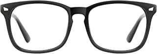 Unisex Stylish Square Non-Prescription Eyeglasses Glasses Clear Lens Eyewear