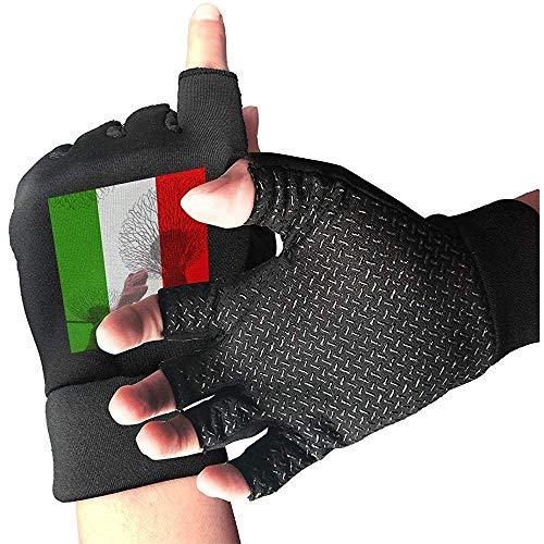 c-sky Guanti da Uomo con Bandiera Italiana a boccaporto per Uomo e Donna