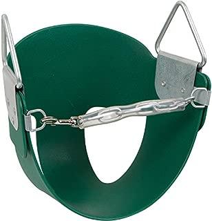 Swing Set Stuff Half Bucket Seat with SSS Logo Sticker, Green