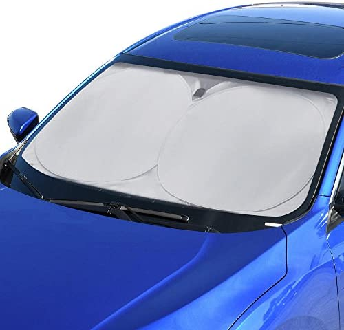 BDK ACDelco ACSS 314 Windshield Sun Shade for Car SUV Auto Keep Your Interior Cool UV Sun Protection product image