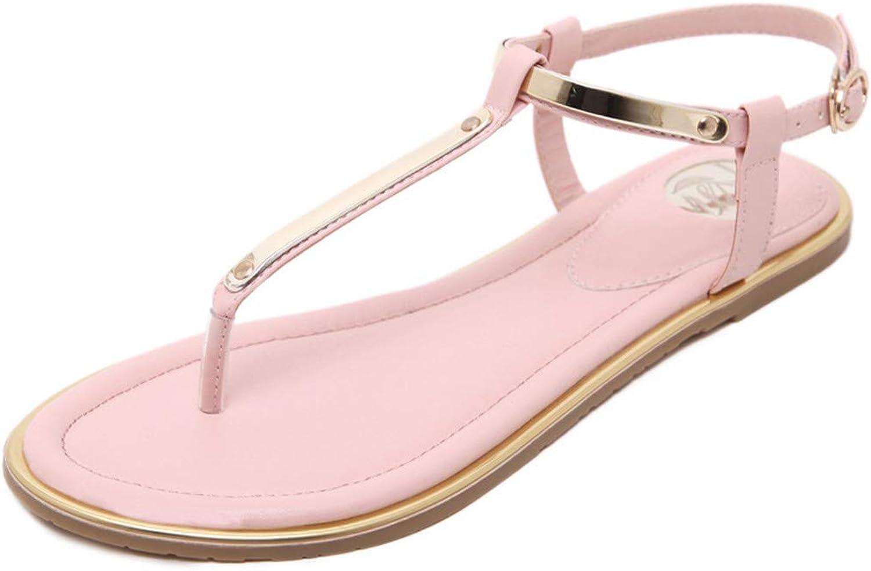 Zipong Summer Sandals Women Flat shoes Metal Sequins Decoration Women shoes