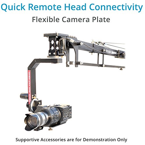 PROAIM 21ft Alphabet Professional Jib Boom Crane (P-A21-J) for DSLR Video Camera Camcorder up to 15kg/33lbs + Carrying Bag