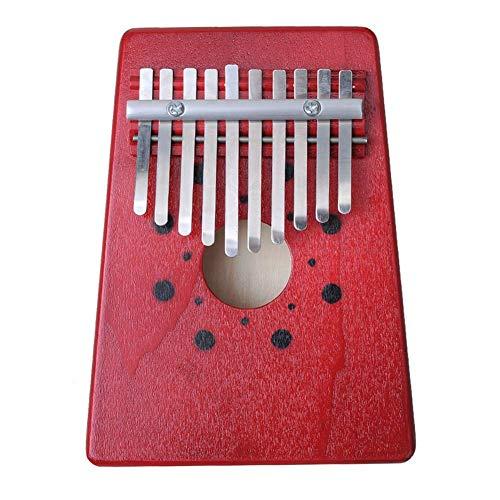 JUNERAIN 10 Keys Finger Kalimba Mbira Sanza Thumb Piano Draagbaar Beginners Toetsenbord
