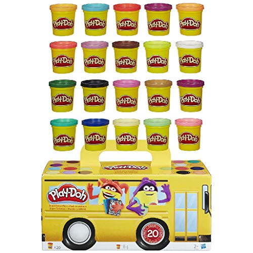 Play-Doh - Super Color Pack, 20 Vasetti