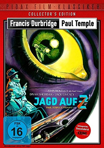 Francis Durbridge: Paul Temple - Jagd auf Z (Paul Temple's Triumph) - Collector's Edition / Hochspannende Durbridge-Verfilmung mit umfangreichem ... Kurzgeschichte (Pidax Film-Klassiker)