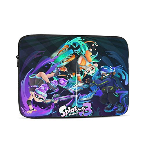 Laptop Sleeve Case for 10 12 13 15 17inch,Win Spla-Toon 2 Computer Pocket Case/Tablet Briefcase Carrying Bag