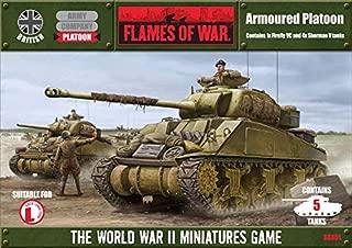 Flames Of War British Sherman Armoured Platoon (late, X5)