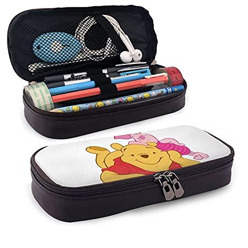 Winnie The Pooh - Astuccio in tela con cerniera per matite, per ragazze e ragazzi e adulti