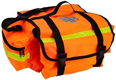 Primacare Medical Supplies KB-RO74 17 x 9 x 7-inch Orange Trauma Bag by Primacare