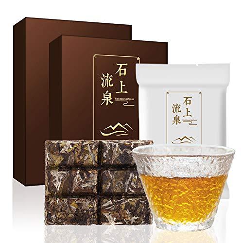 煕渓 白茶 福鼎白茶 2015年原料白牡丹茶叶60g(30g*2) 中国茶 老白茶 茶葉 無添加 白茶セット 天然天日干し工芸 精美な包装 淹れるに便利