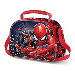 KARACTERMANIA Spiderman Versus – Bolsa Portameriendas 3D, Multicolor
