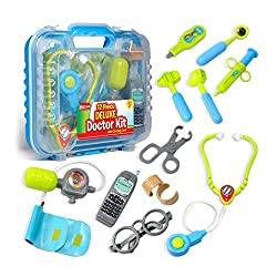 cheap A robust pediatric kit packed with electronic stethoscopes and 12 medical devices …