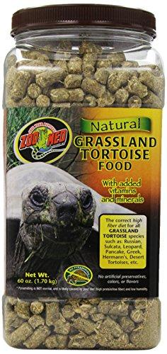 Zoo Med Natural Tortoise Food, 60-Ounce, Grassland