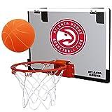 NBA Atlanta Hawks Game On Indoor Basketball Hoop & Ball Set, Regular, Red