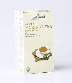 Earths Finest Organic Moringa Tea with Turmeric 37.5g