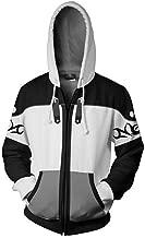 Justincity Kingdom Hearts Hoodie – Unisex 3D Print Zip Up Jacket Coat