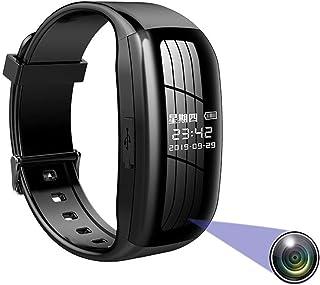 Dicteerapparaat, digitaal, met armband, smartwatch, videocamera, audio-opname, sportarmband, HD 1080p, bewakingscamera, dr...