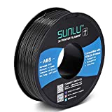 SUNLU ABS Filament 1.75mm for FDM 3D Printer, 1KG(2.2LBS) ABS 3D Filament Accuracy +/-...