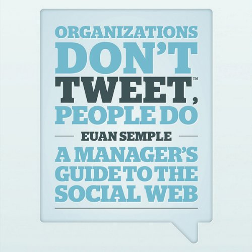 FREE FIRST CHAPTER: Organisations Don't Tweet, People Do cover art