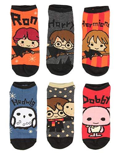 Diseños de personaje Chibi Harry Potter 6 Pack hombres y mujeres Tobilleras
