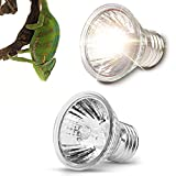 Reptile 6 Heizung Glühbirne,Halogen Sun Mini Glühbirne, Wärmestrahler für E27 Fassung Reptil...