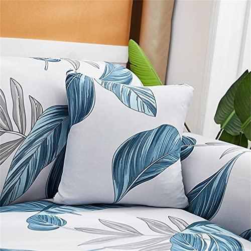 Funda De Almohada Textil para El Hogar Impresa Funda De Cojín De Almohada Cuadrada para La Decoración Interior del Dormitorio De La Sala De Estar del Hogar 4Pcs 18x18Inch(45x45cm
