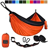 Gold Armour Camping Hammock - USA Brand Single Parachute Hammock (2...