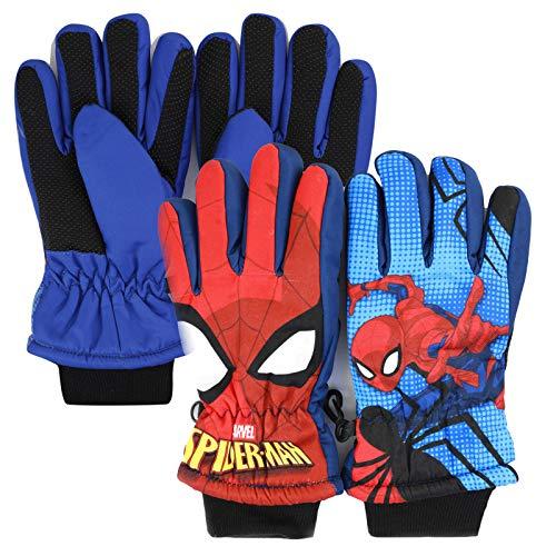Marvel Avengers Spiderman Gants de ski d'hiver...