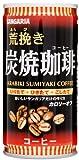サンガリア 荒挽き炭焼珈琲 缶 185mlx30本