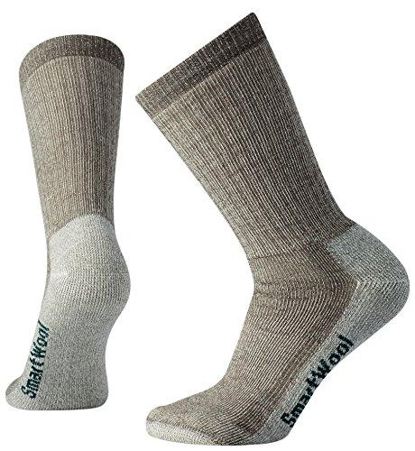 Smartwool Hiking Crew Socks - Women's Medium Cushioned Wool Performance Sock TAUPE M Womens