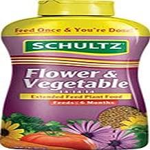 Schultz SPF48300 Flower & Vegetable Extended Feed 14-14-14 Plant Food, 2 lb