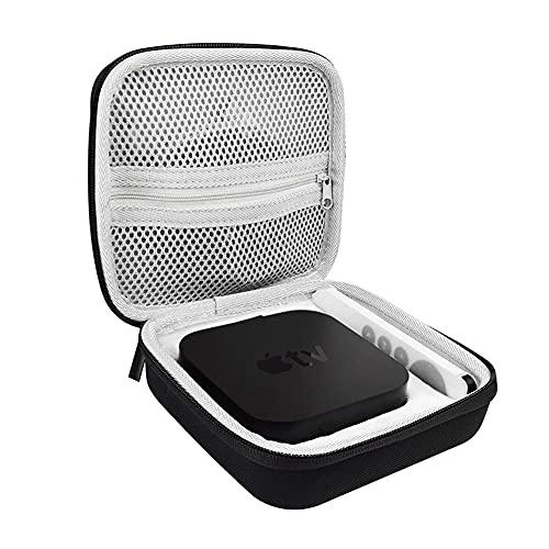 Estuche duro de viaje para Apple TV 4K (2ª generación), caja de almacenamiento de protección de compresión Set-Top Box