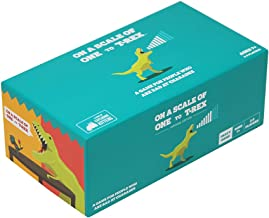 On a Scale of One to T-Rex: A Card Game for People Who Are Bad at Charades - Amazon Exclusive