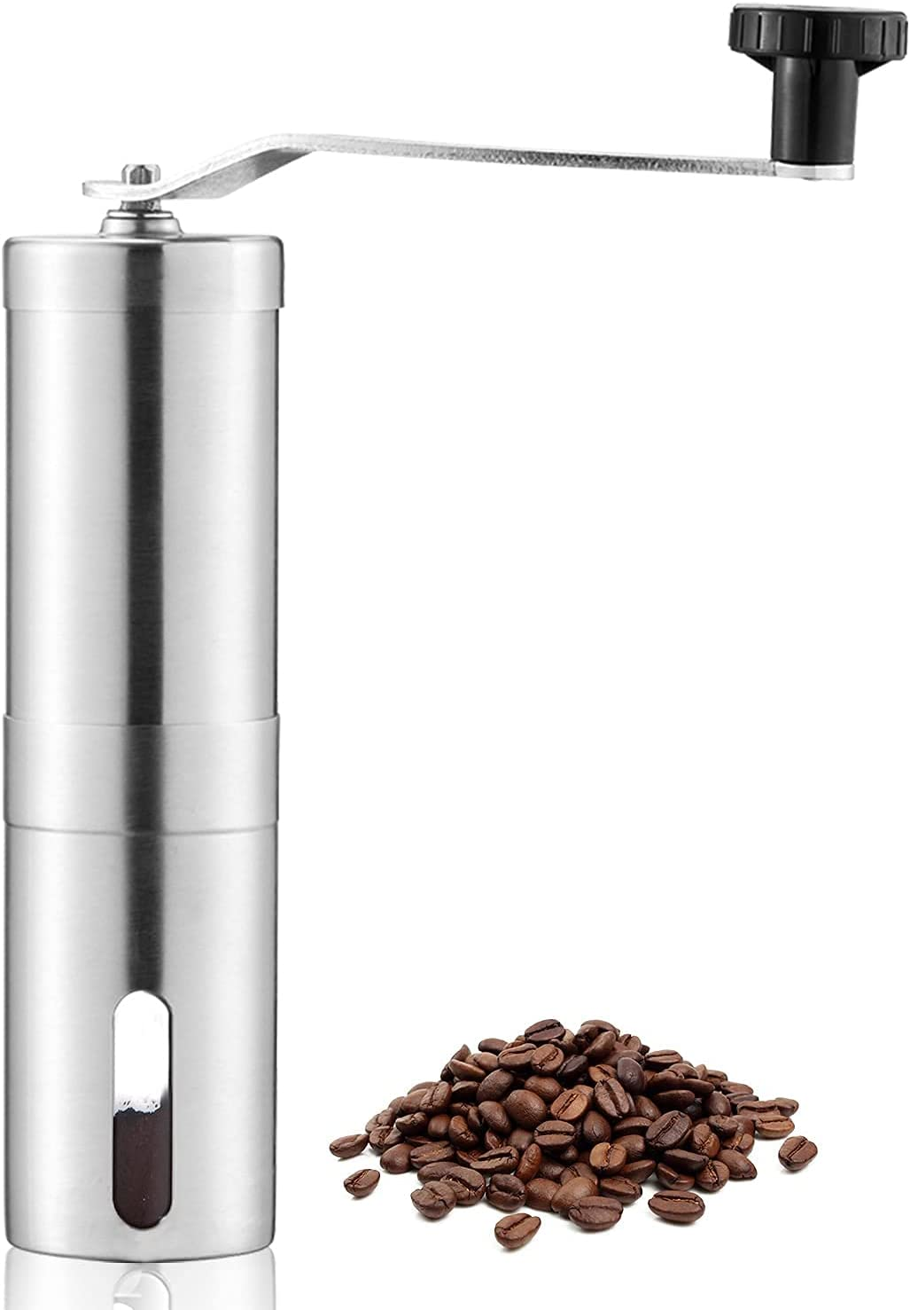! Super beauty product restock quality top! OverTwice Manual Coffee Bean Steel Hand Grinder Fresno Mall Stainless