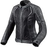 REV'IT! Motorradjacke mit Protektoren Motorrad Jacke Torque Damen Textiljacke camo schwarz/grau 46, Sportler, Ganzjährig, Polyester