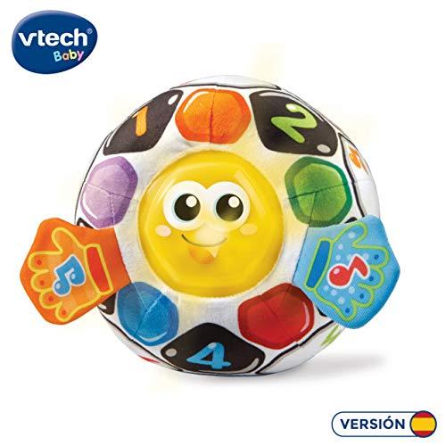 VTech-80-509122, Pelota fútbol bebé Blanda interactiva