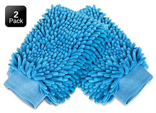2//6//10x Toalla de microfibra para coche Paño de limpieza de lavado en el hogar