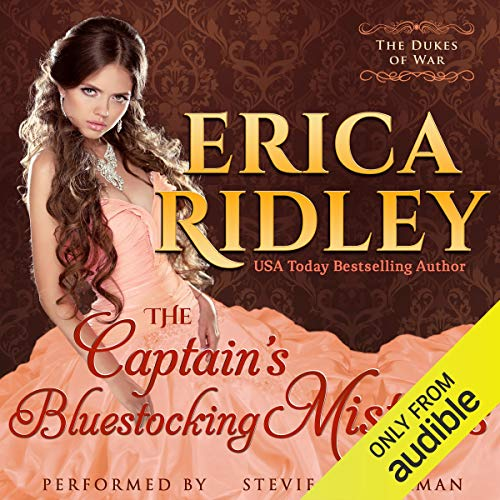 The Captain's Bluestocking Mistress audiobook cover art