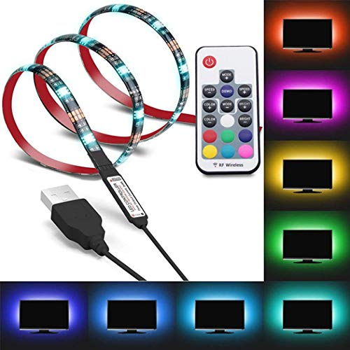 Striscia Luminosa USB TV LED con Telecomando