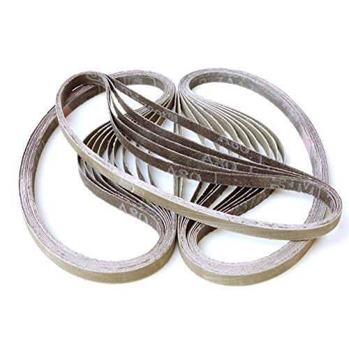 3 M Trizact Lot de 25 bandes abrasives 237 AA   9 x 533 mm   P. ex. pour Makita 9032 Band Lime ou Flex lbs 1105 VE   Grain Au Choix